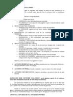 Clasificacion de Las Acciones de Una s.a.