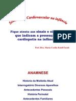 Semiologia cardiovascular na infância