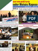 INFORMATIVO I - VEREADOR MOISÉS RAPOSO