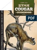 2011-2012 Utah Cougar Hunting Regulations