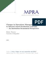 MPRA Paper 5252
