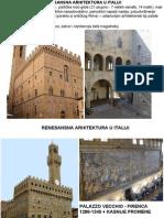 Renesansa Italija, SAJT