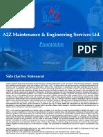 A2Z Corporate Presentation Feb2011