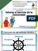 CHARLA DE VALORES