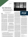 """""""Résistance obstinée des Sahraouis"""" Le monde diplomatique (artículo en francés)"""
