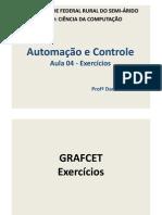 Aula 04 - Exercícios Grafcet