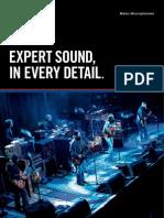 Beta Microphones Brochure En