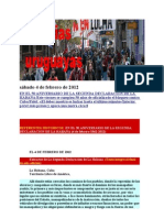 Noticias Uruguayas jueves 2 de febrero de 2012