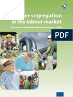Gender segregation in the labour market