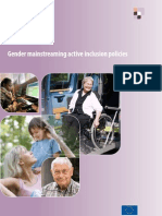 Gender mainstreaming active inclusion policies.