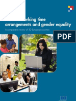 Flexible working time arrangements and gender equality