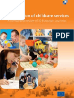 The provision of childcare services. 2009.