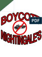 Nightingal'Es Boycott 2