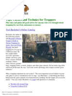 Tips Tactics an Techniques for Trappers 2008