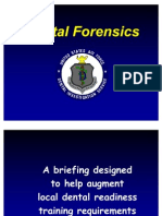 Dental Forensics