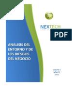 Analisis Del Entorno y Riesgos Del Negocio NexTech Grupo 7_v2