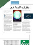 Blackjack Ace Prediction McDowell
