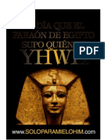 faraonvsyhwh