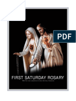 First Saturday Rosary - Color Booklet