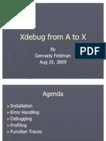 Xdebug PHP Performance Profiling Debugging