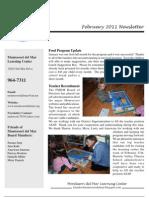 Feb. 2012 Newsletter