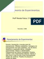 Planejamento de Experimento