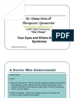 Diana Driscoll Ehlers Danlos Syndrome Your Eyes Presentation