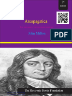 Areopagatica by John Milton Standard