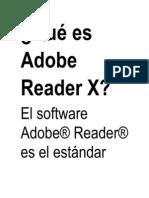 Qué es Adobe Reader X