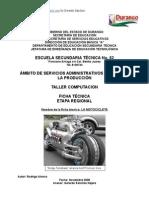 Análisis de Objeto Técnico La Motocicleta