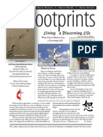 January 2012 Footprints Newsletter