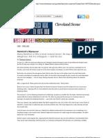 Heimlich's Maneuver | Cleveland Scene