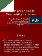 El Duelo Por un Suicida