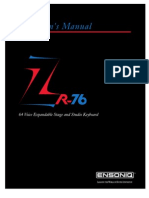 ZR-76 Musicians Manual