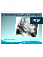 Aportaciones de María Montessori