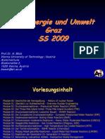 H. Böck- Kernenergie und Umwelt Graz SS 2009