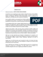 Boletín de actividades 4 de febrero de 2012
