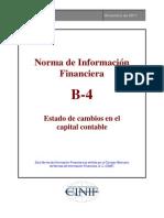 NIF_B-4 Estado de Cambios en El Capital Contable