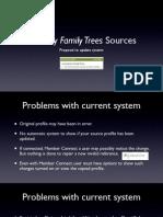 Ancestry Profile Link Proposal