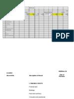 Statutory Schedules Format Schedule VI