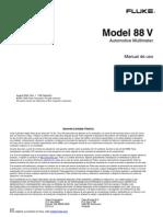 Manual Fluke 88 V