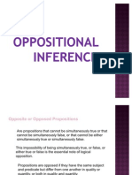 Oppositional Inference Presentation