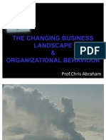 1 Strategic Business Landscape & Organizational Behaviour 1
