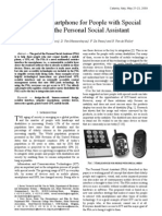 Assistive Smart Phone for People With Special Needs - The Personal Social Assistant