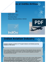 Services Marketing Project - IndiGo Airlines