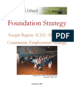 Foundation Strategy ~ Keepit Aboriginal Community Employment Strategy