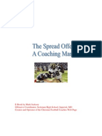 a manual for running the spread offense by mark jackson