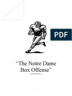 the notre dame box offense