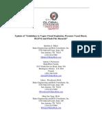 "Quentin A. Baker et al- Update of ""Guidelines to Vapor Cloud Explosion, Pressure Vessel Burst, BLEVE and Flash Fire Hazards"""