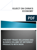 A PROJECT ON CHINA'S ECONOMY